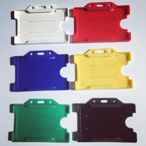 műanyag nyitott kártyatartók több színben raktárról azonnal
