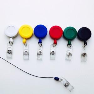 műanyag kihúzható kártyatartók több színben